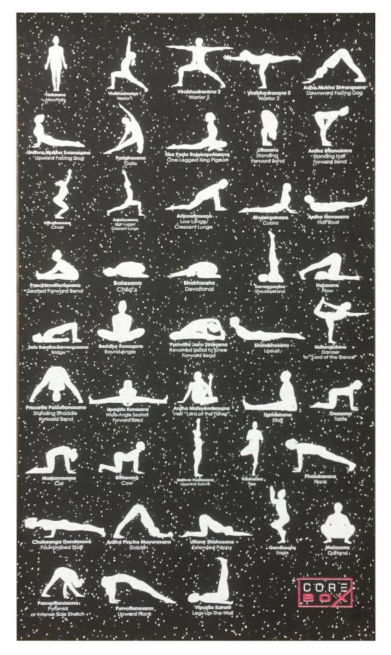 Corebox 125 -Lijnen en Yoga-